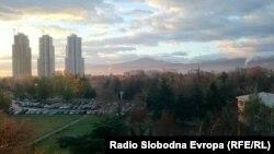 Градежната прашина труе - Скопје градилиште