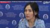 Айнур Ашим, дочь гражданской активистки Ардак Ашим, помещенной в психоневрологический диспансер в городе Шымкенте на принудительное лечение.
