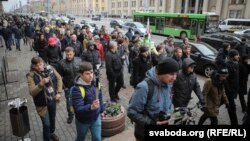 Акція до 1 травня в Мінську, Білорусь
