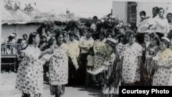 "Tajikistan - In the school - for the Tajik service contest ""I lived in USSR"""