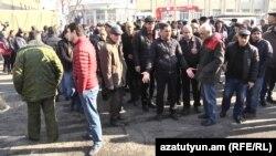 Акция бывших работников завода «Наирит» (архивное фото)