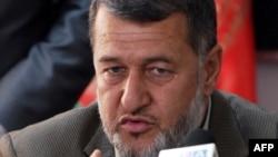Afghan Interior Minister Bismullah Khan