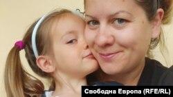 Кристина Касабова и дъщеря й Рая