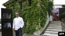 Знаменитый каталонский повар Ферран Адриа