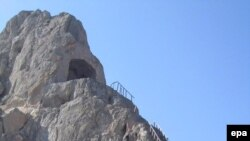 Kandahar's famous Forty Steps, built by Babur the Great.
