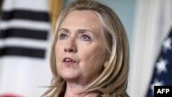 АҚШ мемлекеттік хатшысы Хиллари Клинтон. Вашингтон, 14 маусым 2012 жыл.