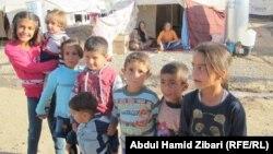 في مخيم للنازحين الكرد السوريين في اربيل (من الارشيف)