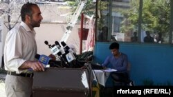 آرشیف، مجیب خلوتگر رئیس اجرائی نی- اداره حمایت از رسانههای آزاد افغانستان