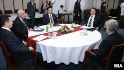 Лидерите не се договорија - фото: од лидерската средба за уставните измени