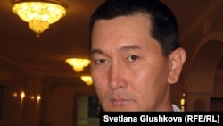 Казахстанский журналист Лукпан Ахмедьяров