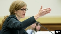 Постійний представник США у Раді безпеки ООН Саманта Пауер