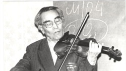Башка чабылган скрипка...
