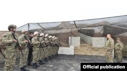 Азербайжандагы аскердик машыгууга президент Ильхам Алиев да катышууда, ноябрь 2016-жыл