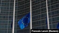 Flamuri i Bashkimit Evropian. Foto nga arkivi.