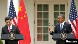 Президент Китаю Сі Цзіньпін та президент США Барак Обама (фото архівне)