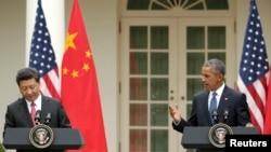 Barack Obama dhe Xi Jinping.
