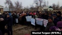 Дача СУ айылындагы митинг, 14-март, 2017