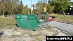 Контейнер для вывоза строительного бытового мусора в Севастополе