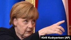 Канцлер Германии Ангела Меркель в Кремле. Москва, 10 мая 2015 года.