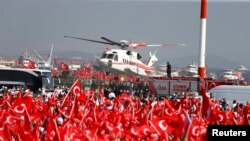 Стамбулдагы митинг.