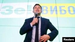 Радіо Свобода звернулося до прес-служби штабу Володимира Зеленського за коментарем