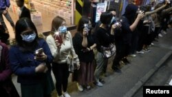 Honq Konqda etiraz nümayişi 31 dekabr, 2019