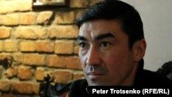 Футболист Самат Смаков. Алматы, 22 ноября 2016 года.