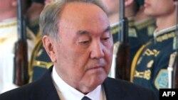 Президент Казахстана Нурсултан Назарбаев. Астана, 26 февраля 2016 года.