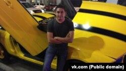 «Вконтакте» әлеуметтік желісіндегі Әлішер Омаровтың атынан ашылған аккаунттағы сурет.