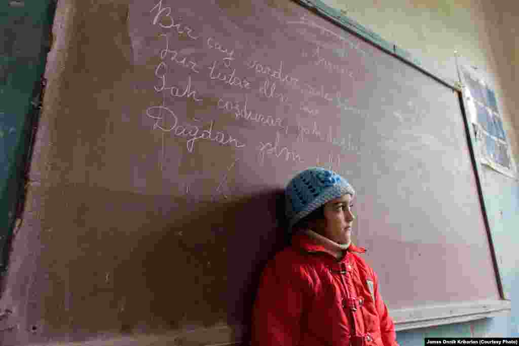 Ethnic Armenians and Azeris study in separate classrooms, but often help each other with homework after school hours.