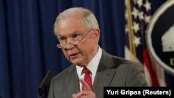 Министр юстиции (генеральный прокурор) США Джефф Сешнс