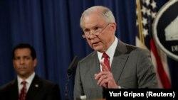 Генеральный прокурор США Джефф Сешнс.