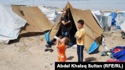 Kamp refugjatësh sirianë në Domeez, Duhok, 04 korrik 2013