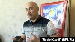 Медиаэксперт из Таджикистана Наби Юсупов.