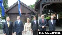 Vesna Pusić sa ministrima vanjskih poslva iz regije