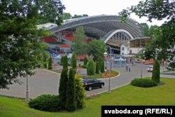 Летні амфітэатар, дзе праходзяць канцэрты «Славянскага базару»