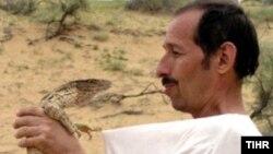 Ekolog Andreý Zatoka, Türkmenistan