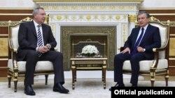 Uzbekistan - Mirziyayev VS Rogozin