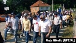 Učesnici Marša mira