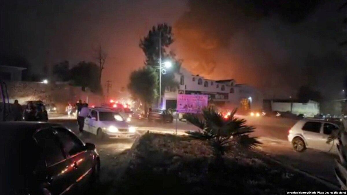 Число жертв взрыва трубопровода в Мексике возросло до 66 человек