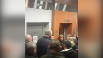 Promocija knjige Vojislava Šešelja u svečanoj sali beogradske opštine Stari grad, 5. februar 2020.