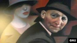 "Исаак Башевис Зингер. Фрагмент фрески. Флагстафф, Аризона. [Фото — <a href=""http://de.wikipedia.org/wiki/Bild:Isaac_Bashevis_Singer_mural_FLG_AZ_USA_6921.jpg"" target=_blank>Wikipedia</a>]"