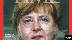 Ангела Меркель на обложке журнала «Тайм».
