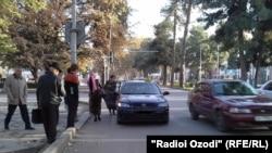Такси на улицах Душанбе