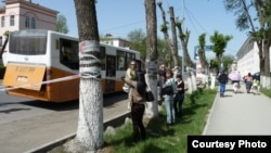 Қала көшесі. Шымкент, 25 сәуір 2011 жыл. (Көрнекі сурет)