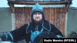 """Нохчийчоь -- """"Magic comb"""" филмехь рол ловзош ву Кадыров Рамзан, Соьлж-ГIала, 13Гезг2014"""