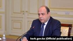 Посол Армении в Казахстане Гагик Галачян.