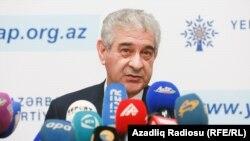 Зампредседателя Партии «Ени Азербайджан», исполнительный секретарь, вице-премьер Али Ахмедов