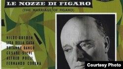 Coperta LP-ului Decca, Mozart, Nunta lui Figaro