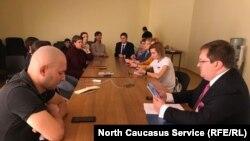 Пресс-конференция в Махачкале